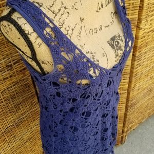 Kenar Lace tank with liner L